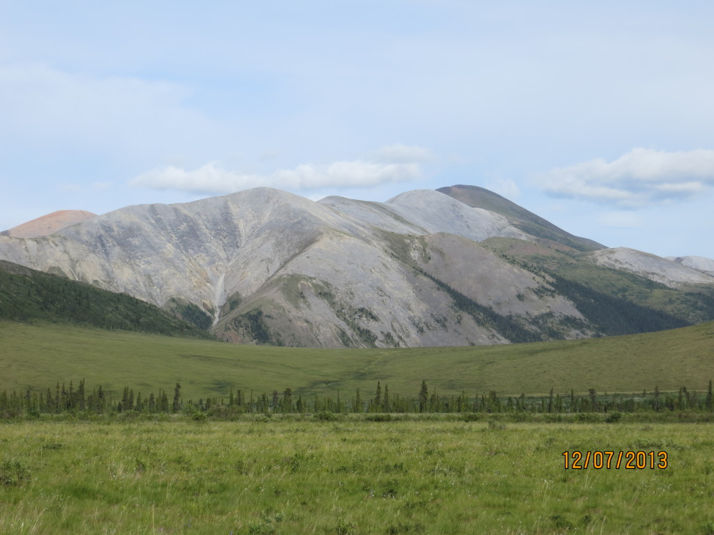 3 Silvergrå berg