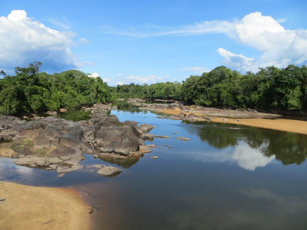 Bild 4 Flod i Indianreservatet