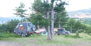 Albania free camp