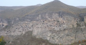 Georg_Vardzia Cave town