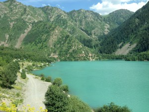 Kaz Almaty lake T