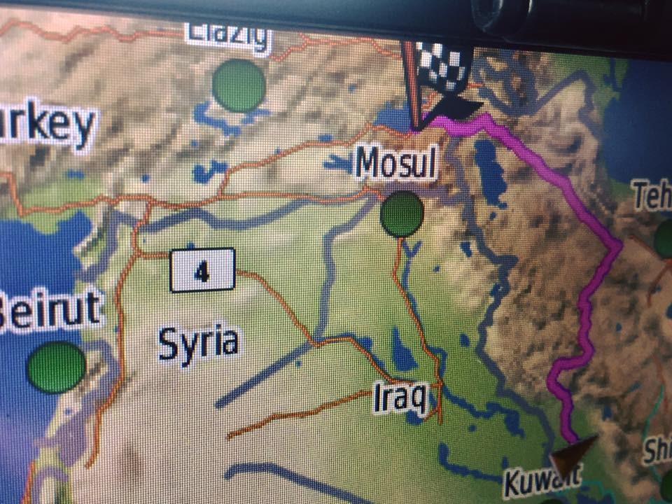 43 position Mosul
