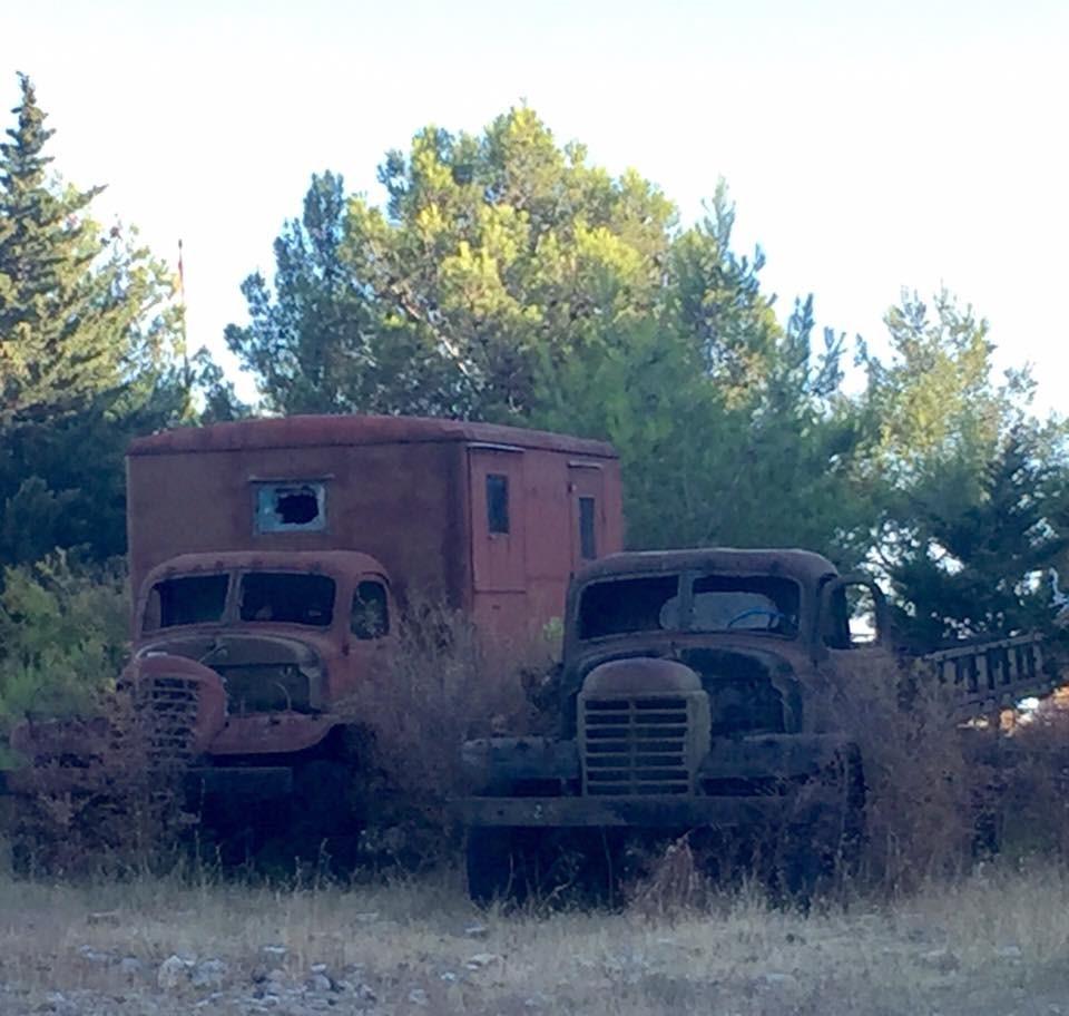 60 Albanian Army trucks